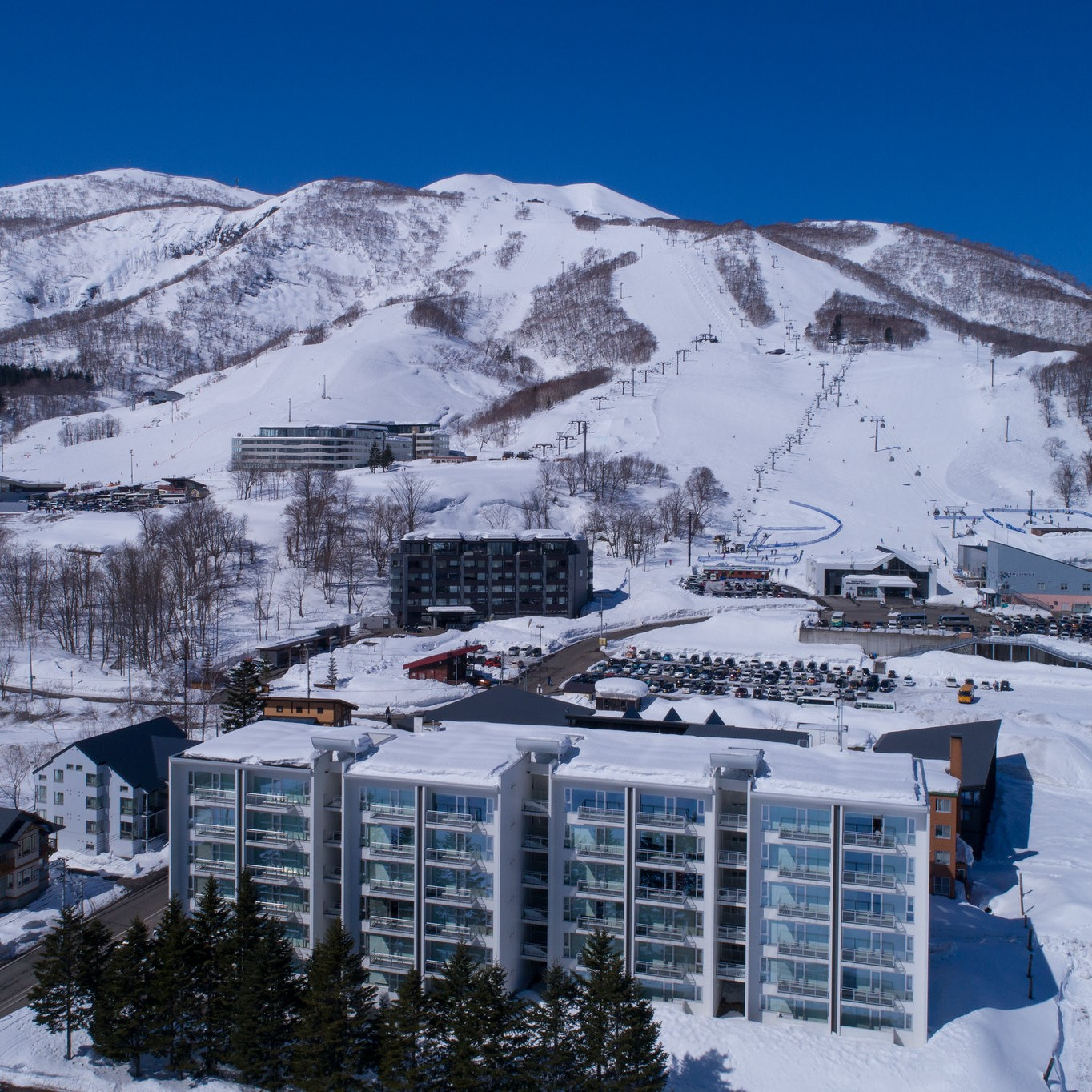 niseko village winter