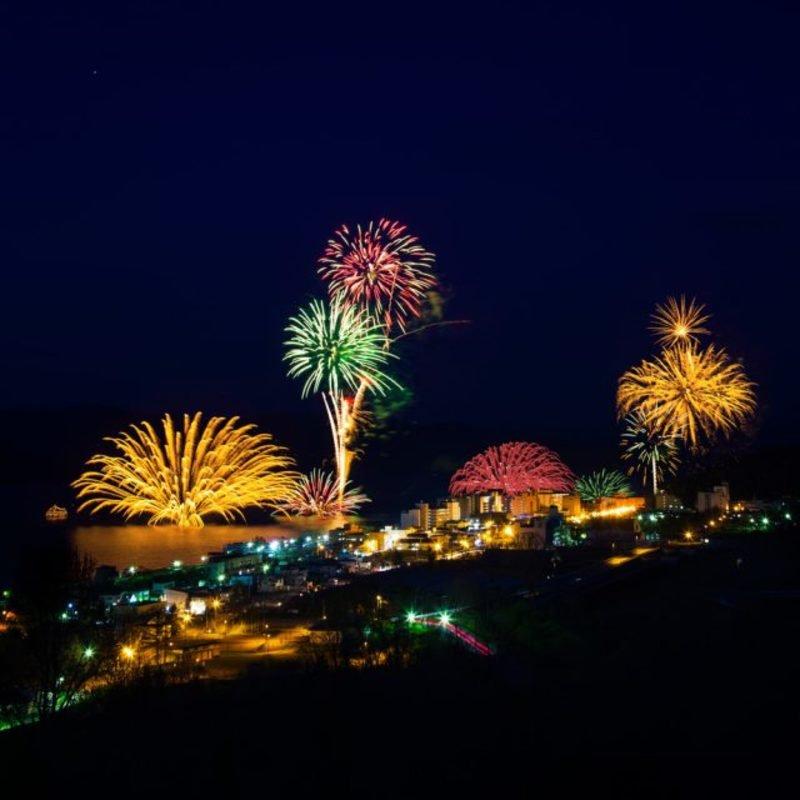 Lake Toya Nightly Fireworks 2020