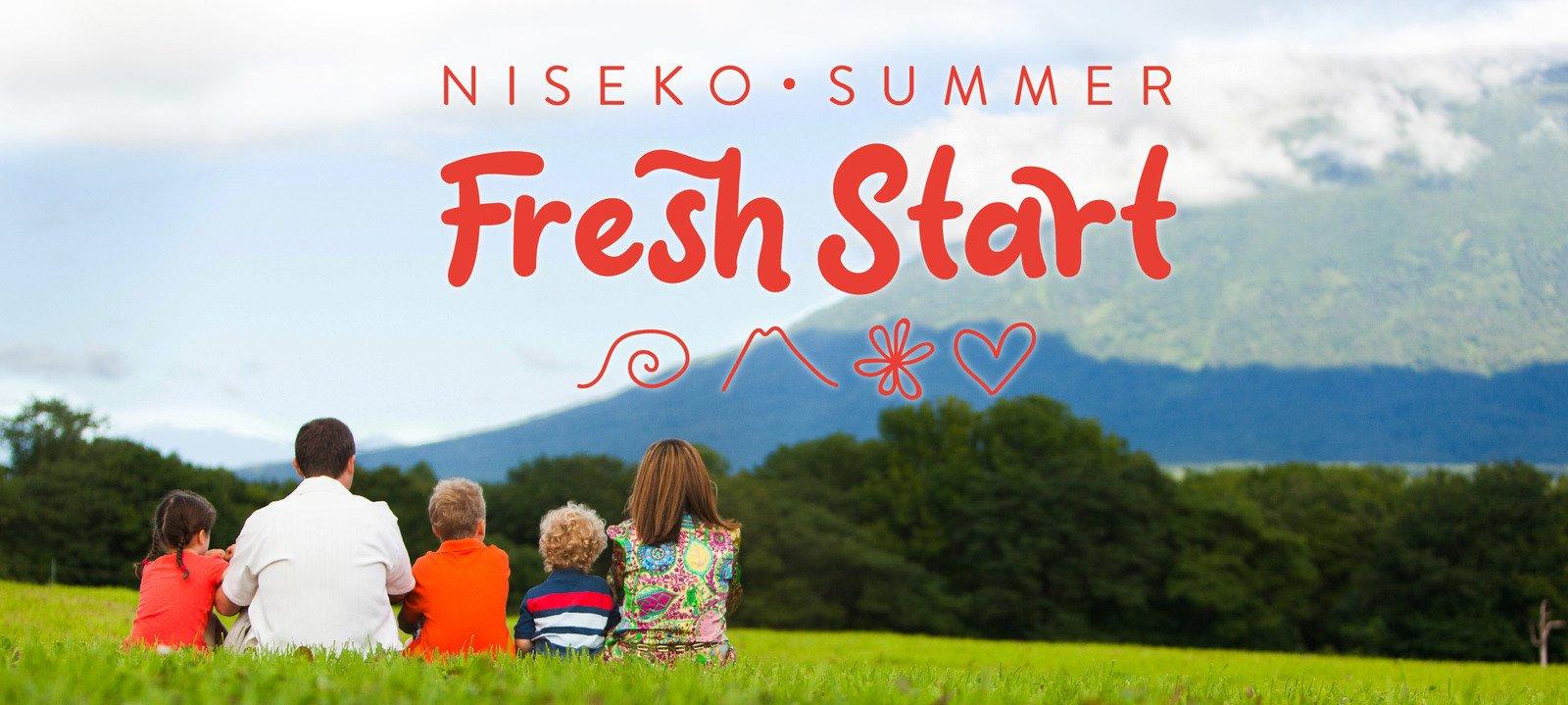 Fresh Start: Enjoy Summer in Niseko