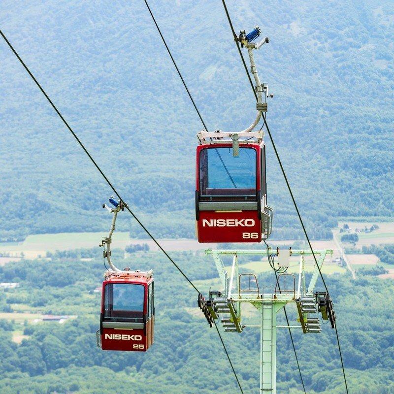 2020 新雪谷比羅夫夏季貢多拉纜車