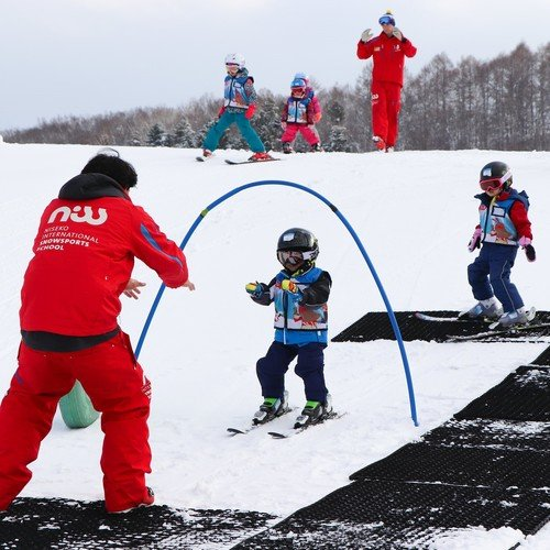 ski lessons niseko kids adult group private class