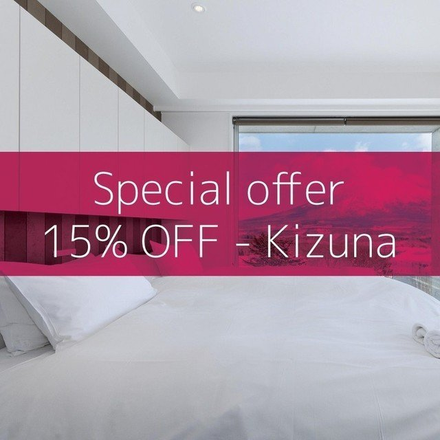 Niseko accommodation special offer: 15% OFF Kizuna