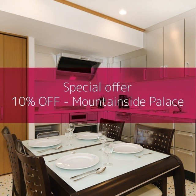 Mountainside Palace Special Offer: 10% OFF