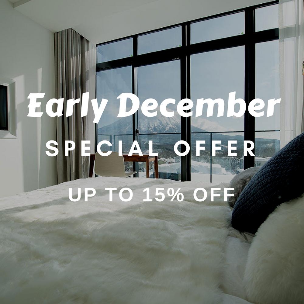 Niseko early winter special offer 2017 18