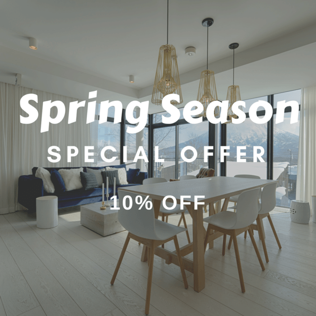 Spring Season Accommodation Special 2018