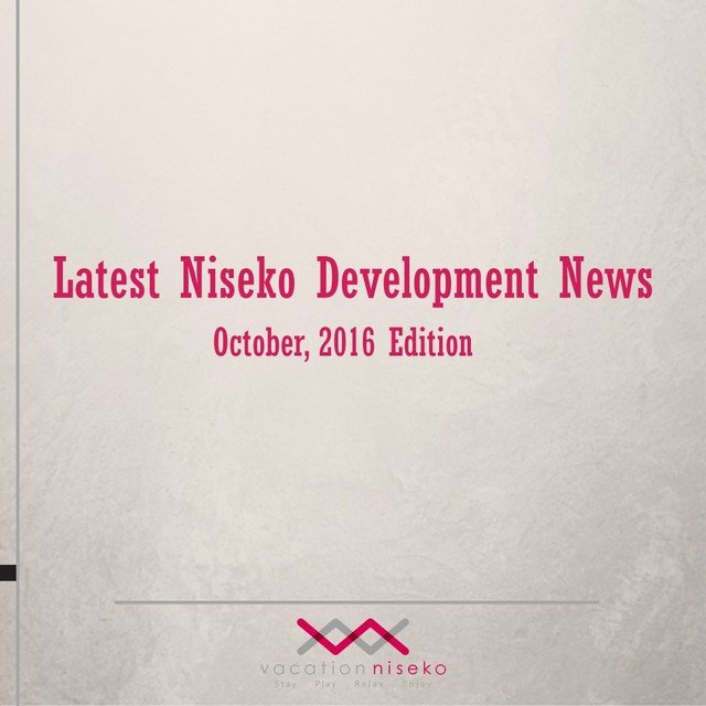 Latest niseko development news october 2016 medium