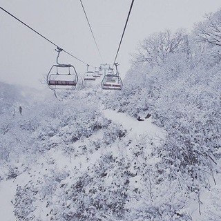 Niseko Snowfall in the early season 2016-17