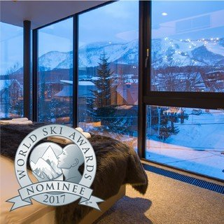 Aspect is nominated as japan s best ski chalet small