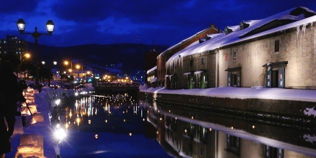 Otaru snow light path medium