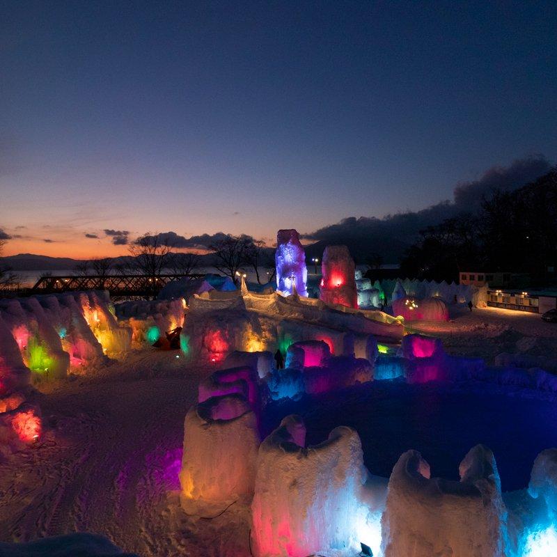 Chitose Shikotsu Ice Festival 2021