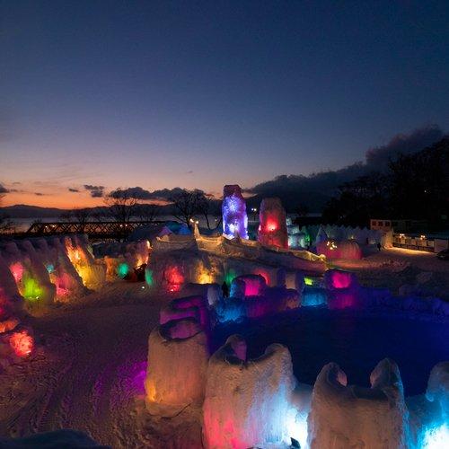2020 千歳・支笏湖 氷濤まつり