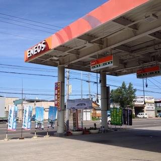 Eneos gas station small