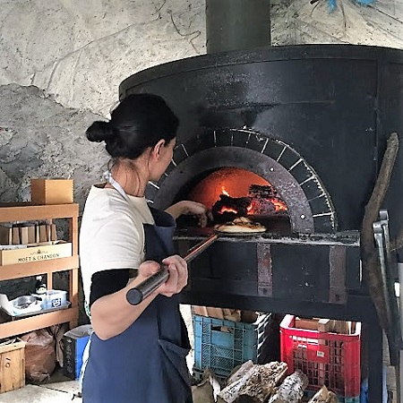 Niseko travel idea stone oven pizza making experience