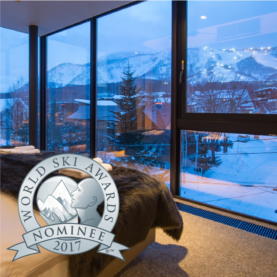 Aspect is nominated as japan s best ski chalet