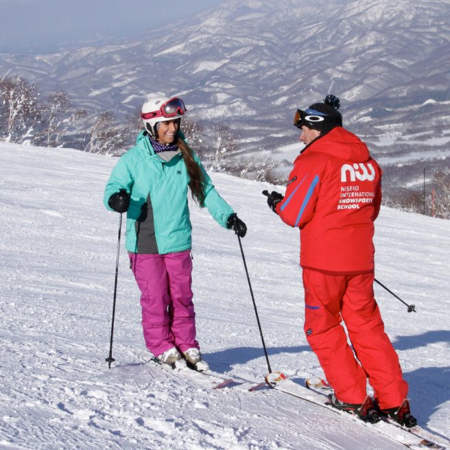 Why you should book with niss ski school in niseko