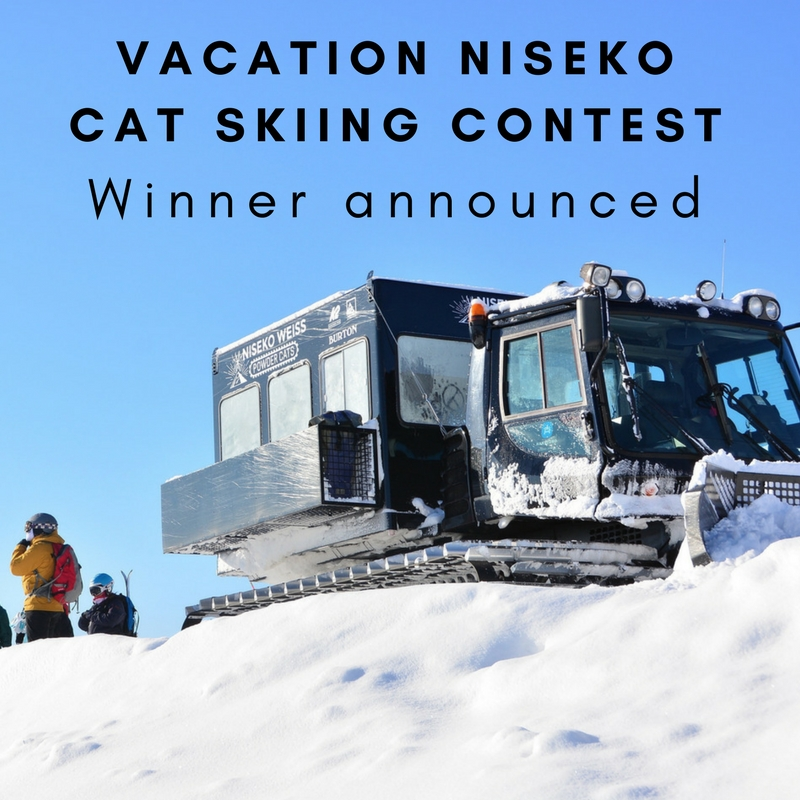 Win a free cat skiing tour winner announcement