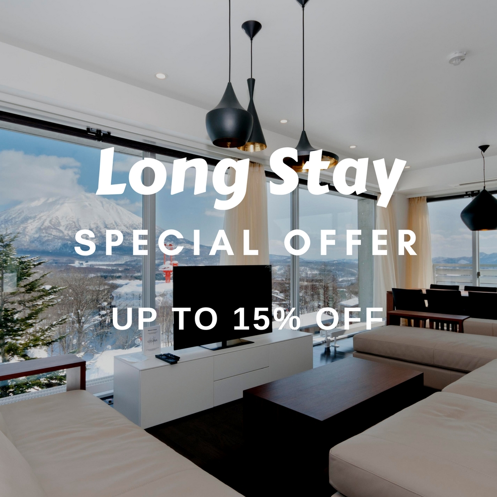 New long stay discounts stay more and save more